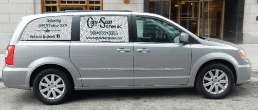 Copy Scan Delivery Van